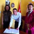 Mehmet PEKER ile Gamze KALTUŞ Nikah Töreni Yapıldı